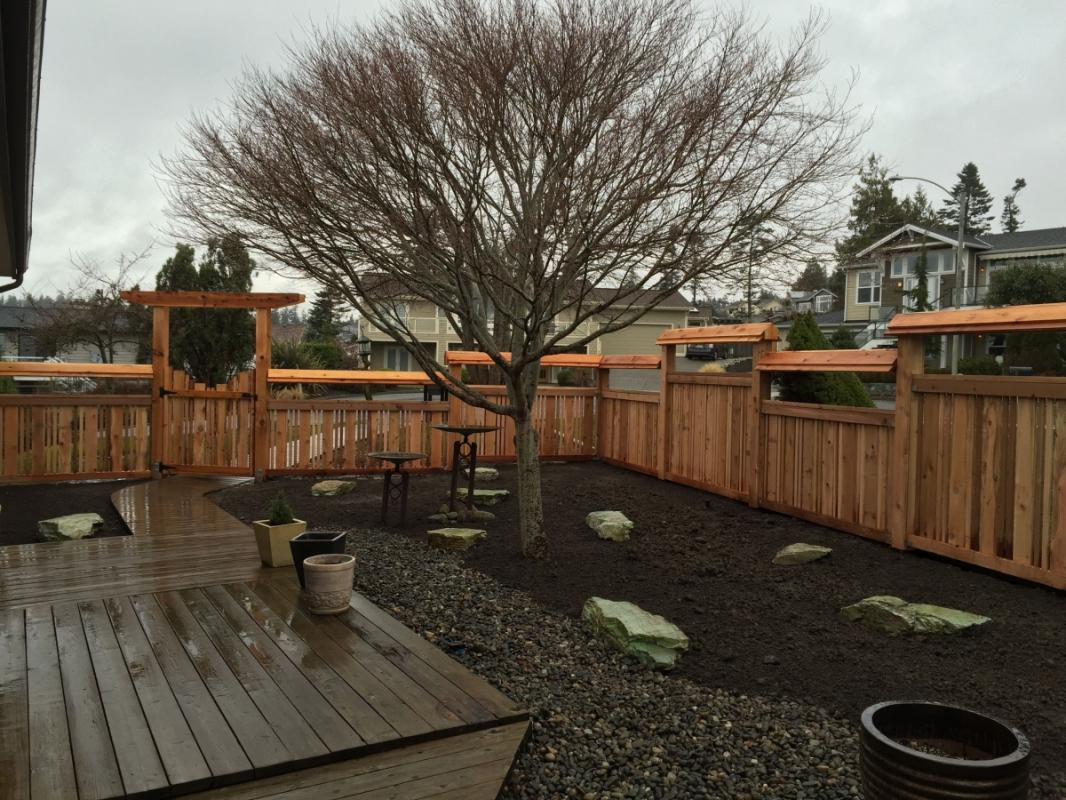 Photos Asian Inspired Fence By Sound Cedar
