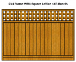 Square Lattice Top